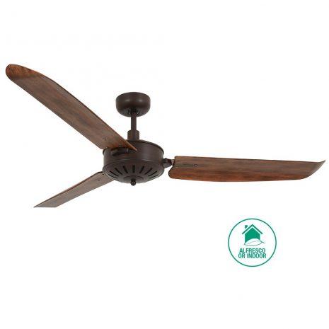 "LUCCI AIR AIRFUSION CAROLINA 211017 56"" bronz/koa Reverzní stropní ventilátor"