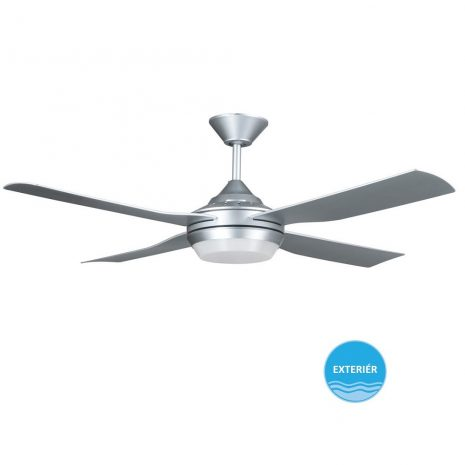 "LUCCI AIR MOONAH 212896 52"" stříbrná Reverzní stropní ventilátor"