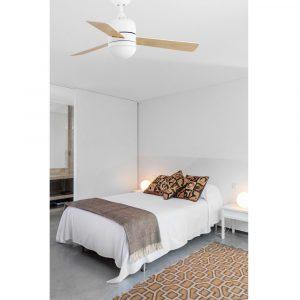 """FARO CEBU 33606 40,2"""" bílá/bílá/javor Reverzní stropní ventilátor"""