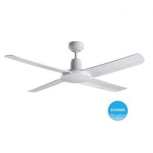 """BEACON BAYSIDE NAUTILUS 213025 52"""" bílá/bílá Reverzní stropní ventilátor IP55"""