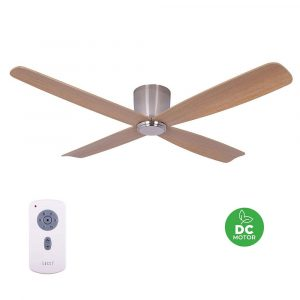 "BEACON LUCCI AIR FRASER 210987 52"" chrom/teak Reverzní stropní ventilátor"