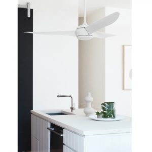 """BEACON LUCCI AIR NORDIC WHITE 212911 56"""" matná bílá Reverzní stropní ventilátor"""