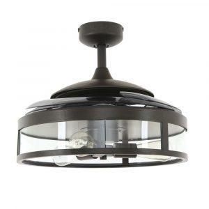 """FANAWAY CLASSIC 212927 48"""" černá/kouřová Reverzní stropní ventilátor"""