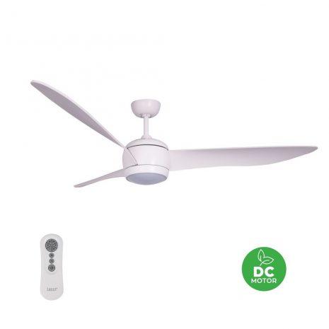"BEACON LUCCI AIR NORDIC LED WHITE 512911 56"" bílá/dub Reverzní stropní ventilátor"