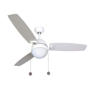 """LUCCI AIR BOREAS 512104 48"""" bílá/bílá Reverzní stropní ventilátor"""